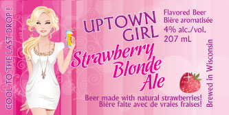 Strawberry Blonde Label