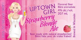 Strawberry Blonde Label